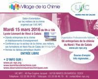 Village de la chimie en région : 15 mars au lycée Léonard de Vinci à Calais